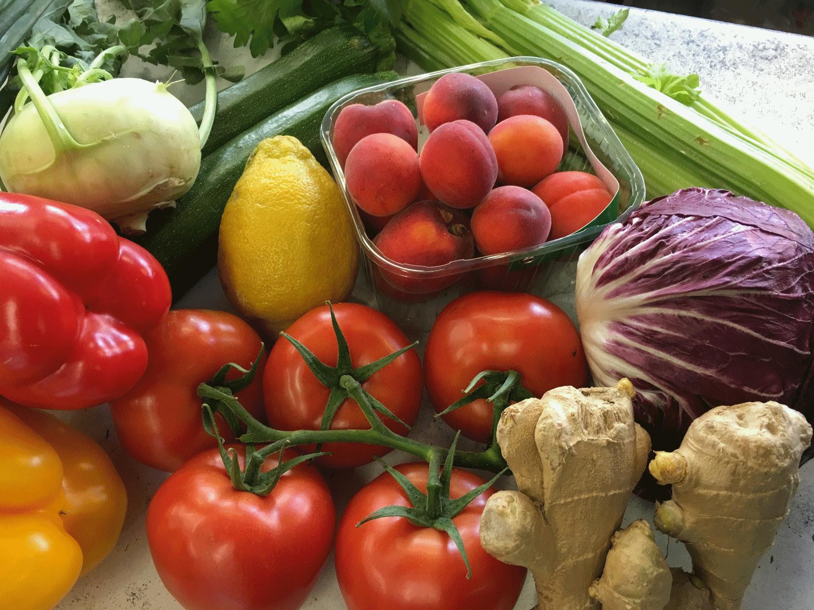 Lieferservice Gemüse